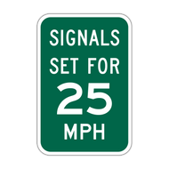 I1-1 Signals Set for XX MPH