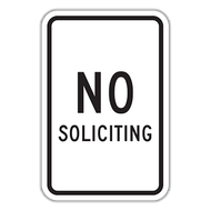 NS No Soliciting