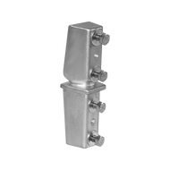 "SNAP'n SAFE"" SU800 Ground Mount Breakaway Sign Post Coupler - Box of 10"