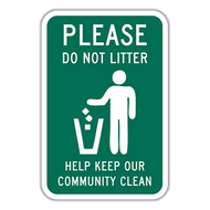PDL Please Do Not Litter