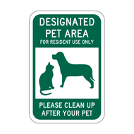 DPA Designated Pet Area