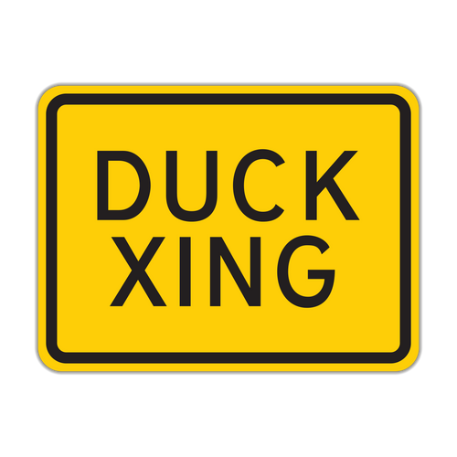 HW16-1P Duck Crossing