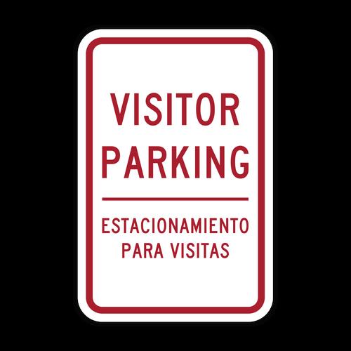 HR7-122-ES Visitor Parking - English/Spanish