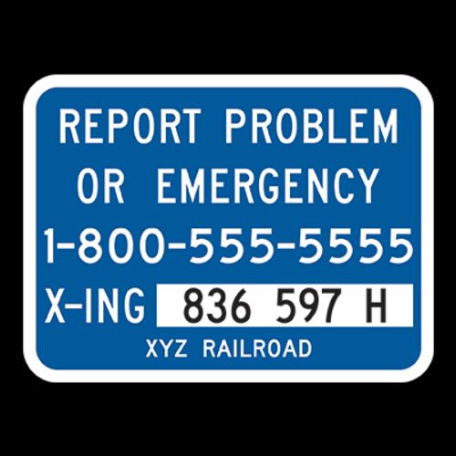 I-13 Alternate Emergency Notification Sign