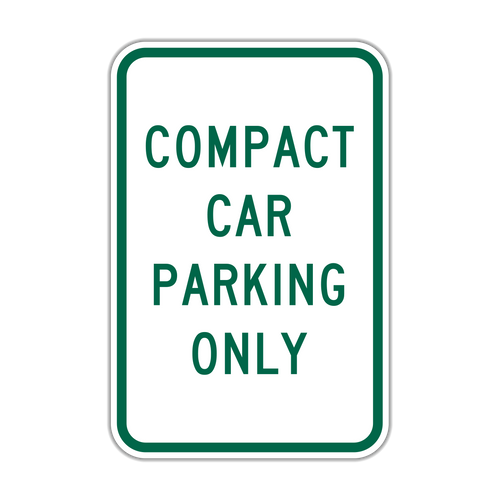 CCO Compact Car Parking Only