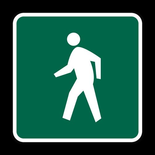 D11-2 Pedestrians Permitted
