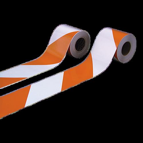Nikkalite® Engineering Grade Pre-Striped Reflective Barricade Sheeting Series 8100