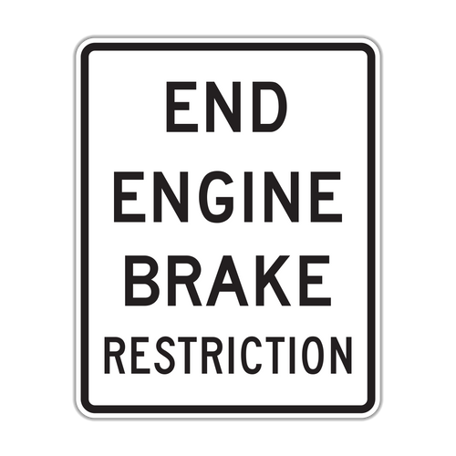 R20-H2 End Engine Brake Restriction