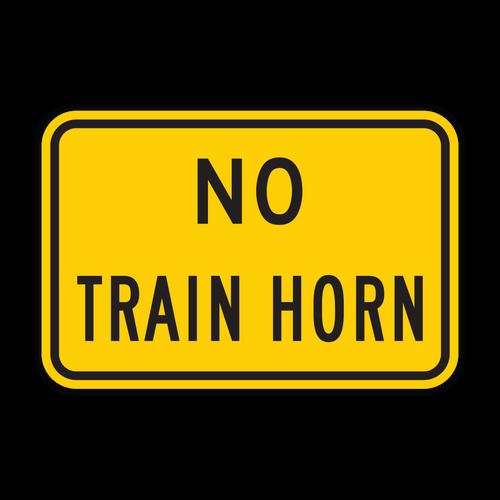 W10-9P No Train Horn