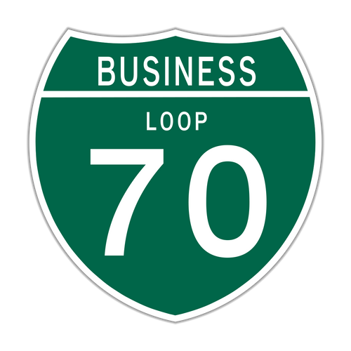 M1-2 Off-Interstate Route Sign (1 or 2 digits)