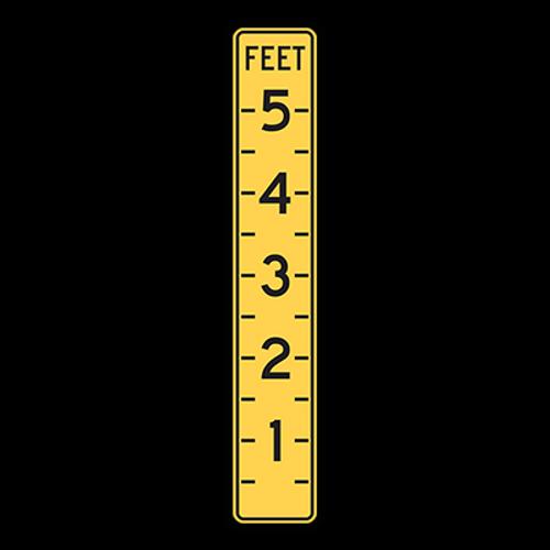 W8-19 Flood Gauge