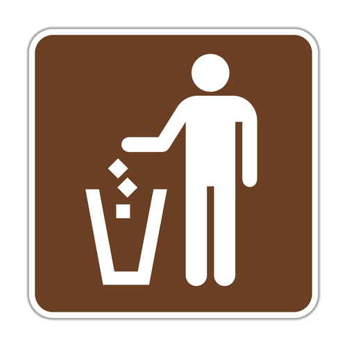 RS-086 Litter Receptacle