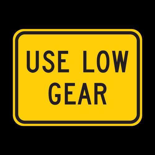 W7-2P Use Low Gear