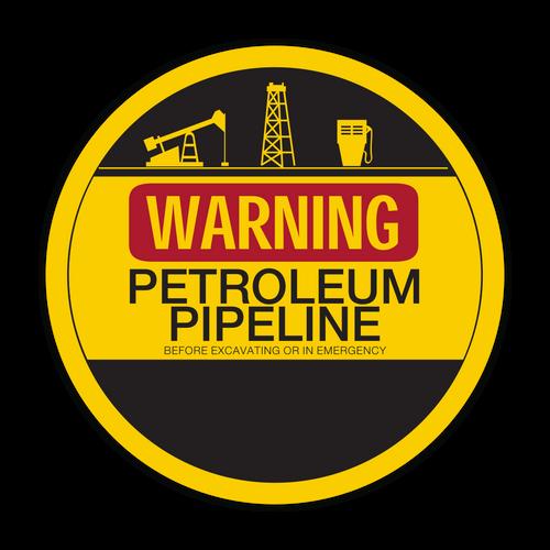 LLC-1 Warning Petroleum Pipeline