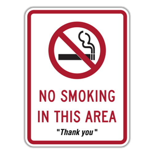 NSA No Smoking in This Area