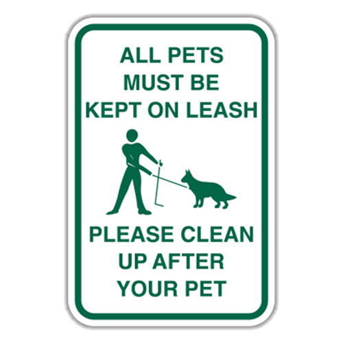 POL-ALT2 All Pets Must Be Kept on Leash