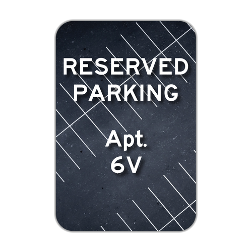 RP1 Reserved Parking _____
