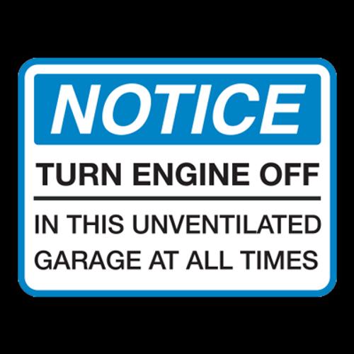 NTE Notice Turn Engine Off