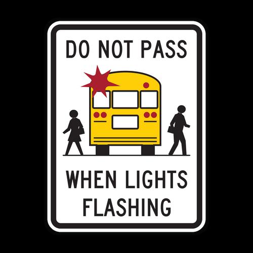 HW9-16 Do Not Pass When Lights Flashing