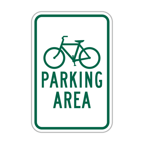 HD4-3 Bicycle (symbol) Parking Area