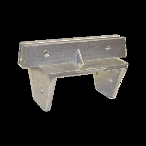 "4"" x 4"" Wood Post Cap for Flat Blades"