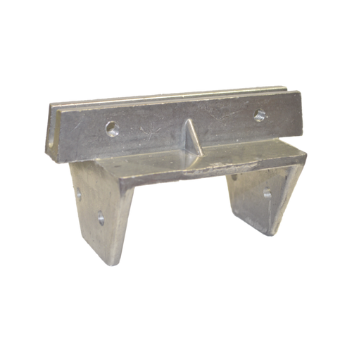 """4"""" x 4"""" Wood Post Cap for Extruded Blades"""
