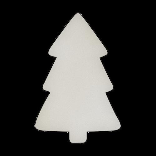 "11.75"" x 17.5"" Specialty Shape Aluminum Sign Blank - Pine Tree"