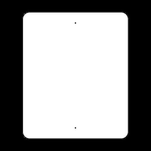 "30"" x 36"" Non-Reflective Sign Blank"