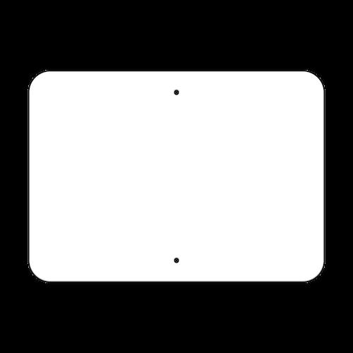 "21"" x 15"" Non-Reflective Sign Blank"