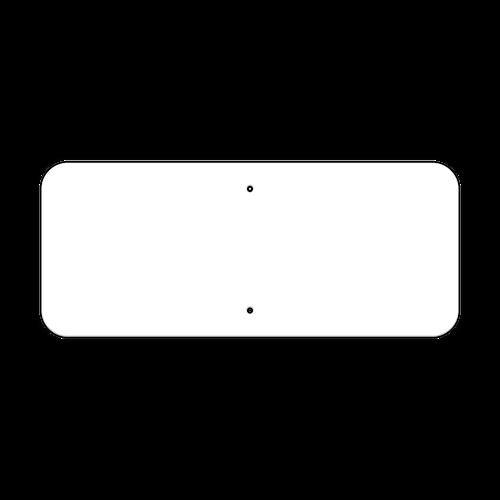 "24"" x 10"" Non-Reflective Sign Blank"