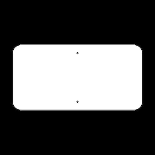 "24"" x 12"" Non-Reflective Sign Blank"