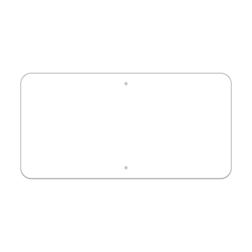 "30"" x 15"" Non-Reflective Sign Blank"