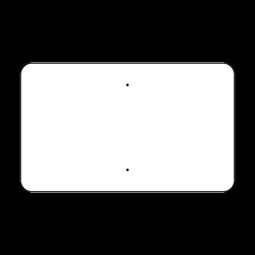 "30"" x 18"" Non-Reflective Sign Blank"