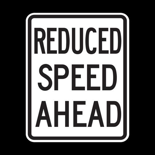 HR2-5a Reduced Speed Ahead