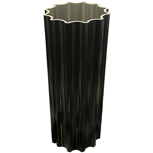 """4"""" Decorative Fluted Post - 14'"""