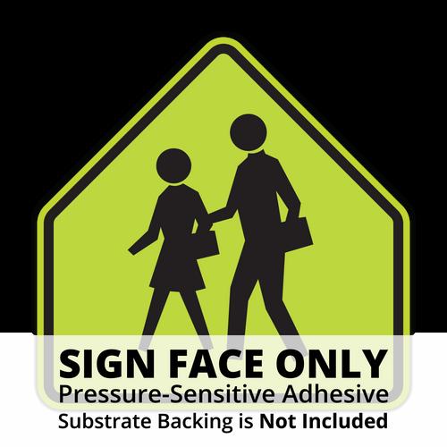 S1-1 School Sign Face