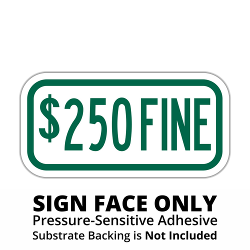 R7-I101 $XXX Fine Sign Face