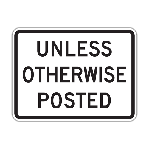 R2-5P Unless Otherwise Posted