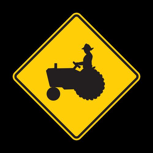 "12"" W11-5 Farm Vehicle"