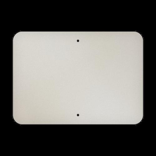 "21"" x 15"" Aluminum Sign Blank - Standard Punch"