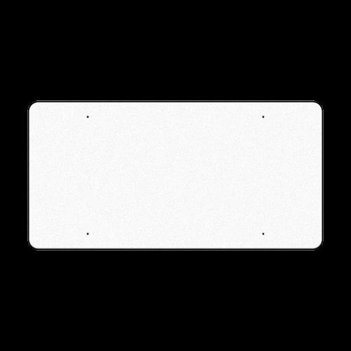 "60"" x 30"" Reflective Sign Blank"