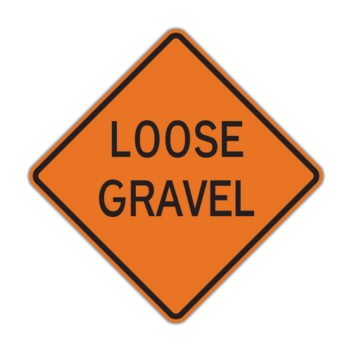 W8-7 Loose Gravel (Construction)