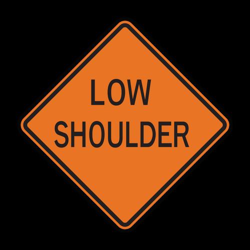 W8-9 Low Shoulder (Construction)