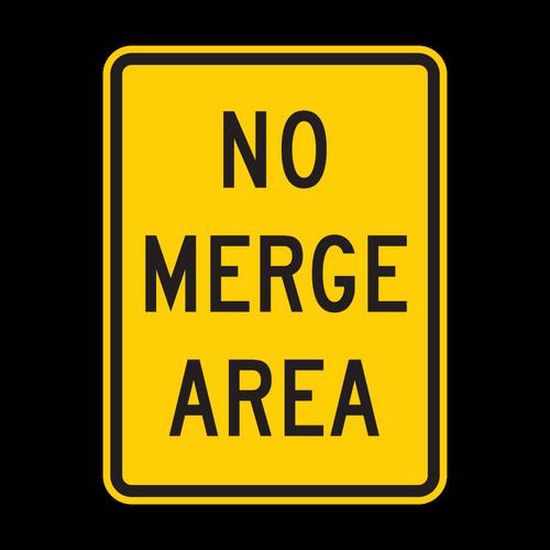 W4-5P No Merge Area