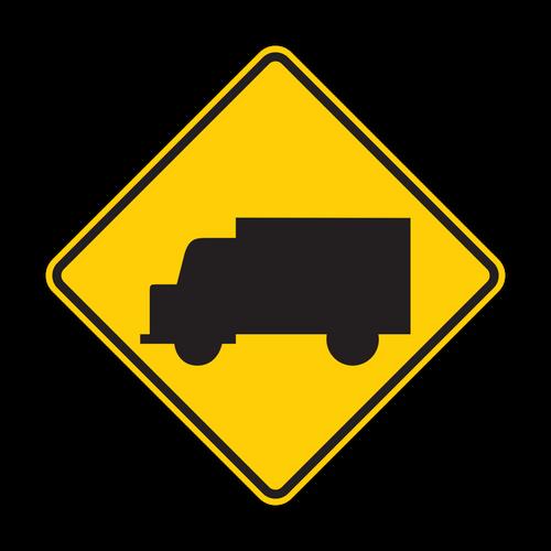 W11-10 Truck