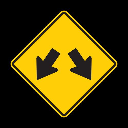 W12-1 Double Arrow