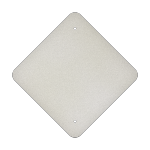 "12"" Diamond Punch Aluminum Sign Blank"