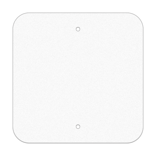 """12"""" Square Reflective Sign Blank"""