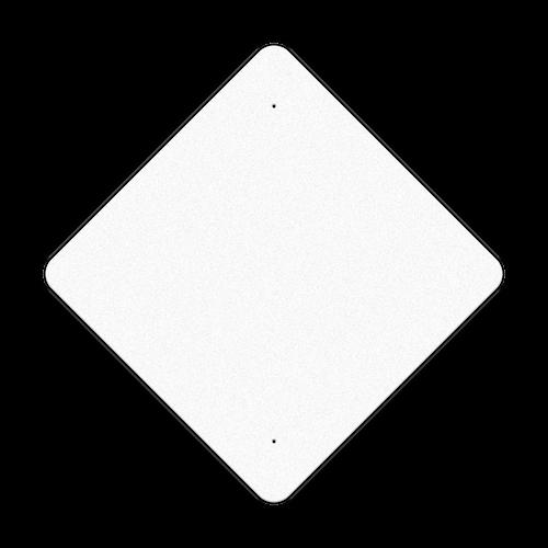 "36"" Diamond Reflective Sign Blank"