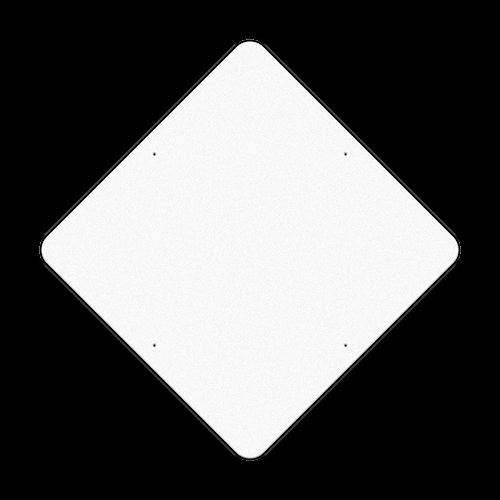 "48"" Diamond Reflective Sign Blank"